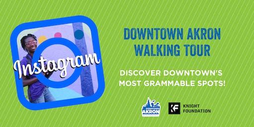 Instagram Walking Tour - Downtown Akron