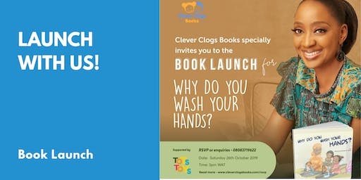 Book Launch - Why Do You Wash Your Hands?
