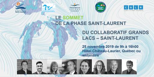 Collaboratif Grands Lacs - Saint-Laurent - Le Sommet de la phase Saint-Laurent