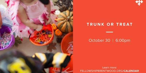 Trunk or Treat at Fellowship Bible Church