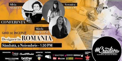 Designer in ROMANIA - Ghid de Inceput - CREATIVO 2019