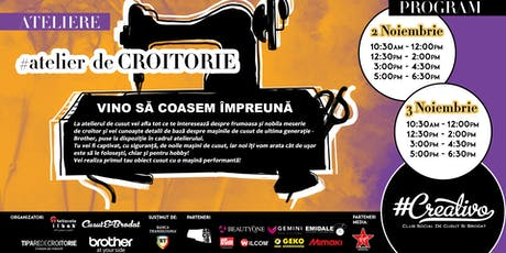 Atelier de Croitorie la #Creativo de Toamna 2019 tickets