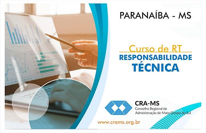 Imagem do evento Curso RT - Responsabilidade Técnica 2019 - Paranaíba-MS