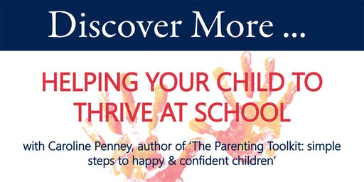 Helping your Child to Thrive at School