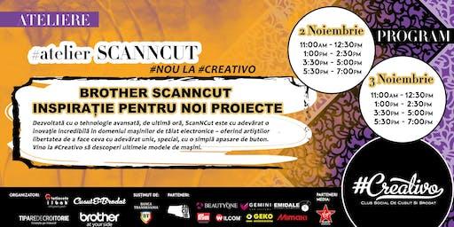 Atelier SCANNCUT la #Creativo de Toamna 2019