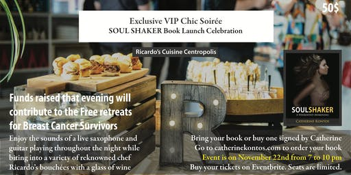 Exclusive VIP Chic Soirée SOUL SHAKER Book Launch Celebration