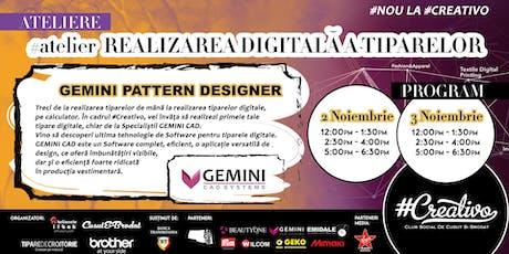 Ateliere de Realizarea Digitala a Tiparelor la #Creativo de Toamna 2019 tickets