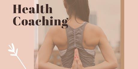 Health Coaching bilhetes