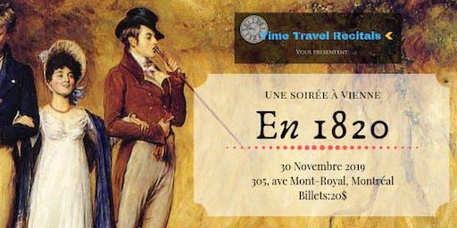 Time travel recital présente: Une soirée à Vienne en 1820