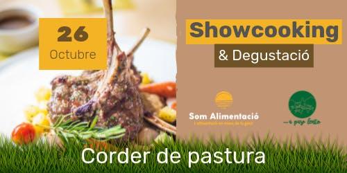 Showcooking y Degustación Cordero sostenible