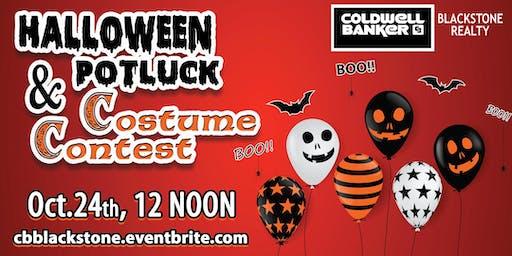 Halloween Potluck & Costume Contest