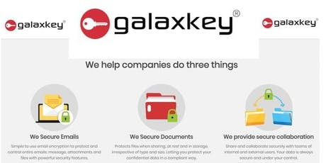 GALAXKEY-key features of the revolutionary & market-leading encryption tool tickets