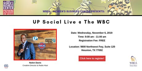 Up Social LIVE at the WBC tickets