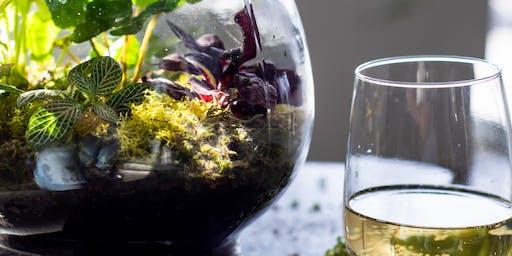 Terrarium Takeaway with Wine!  @ Dogwood Coffee NE, Saturday 11/16/2019