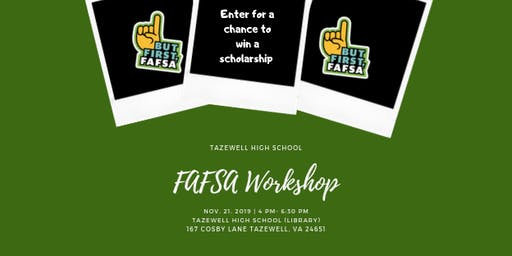Tazewell High School FAFSA Workshop