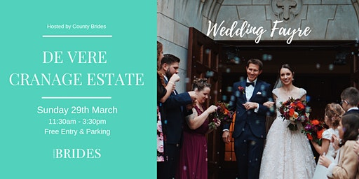 De Vere Cranage Estate Wedding Fayre Hosted by County Brides