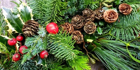 'Make Your Own Christmas Wreath' Workshop tickets