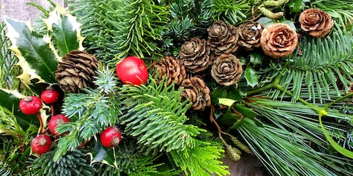 'Make Your Own Christmas Wreath' Workshop