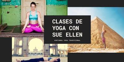 Clases de Yoga con Sue Ellen