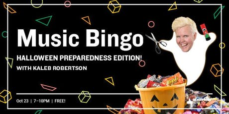Music Bingo: Halloween Preparedness Edition tickets