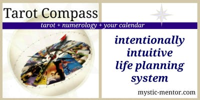Tarot Compass Planner | tarot + numerology + the calendar = GPS to Success