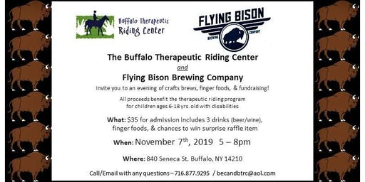 Flying Bison Fundraiser for BTRC