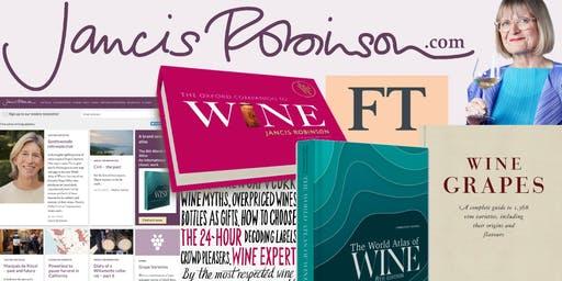 """Jancis Robinson and her Newest """"World Atlas of Wine"""" Book Signing"""