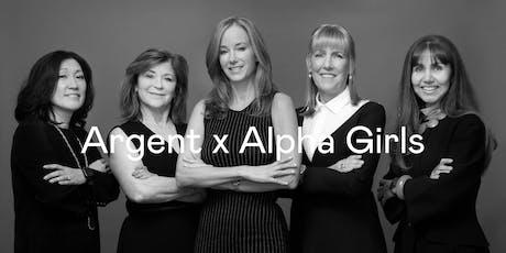 Argent x Alpha Girls tickets