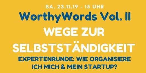 WorthyWords Vol. II