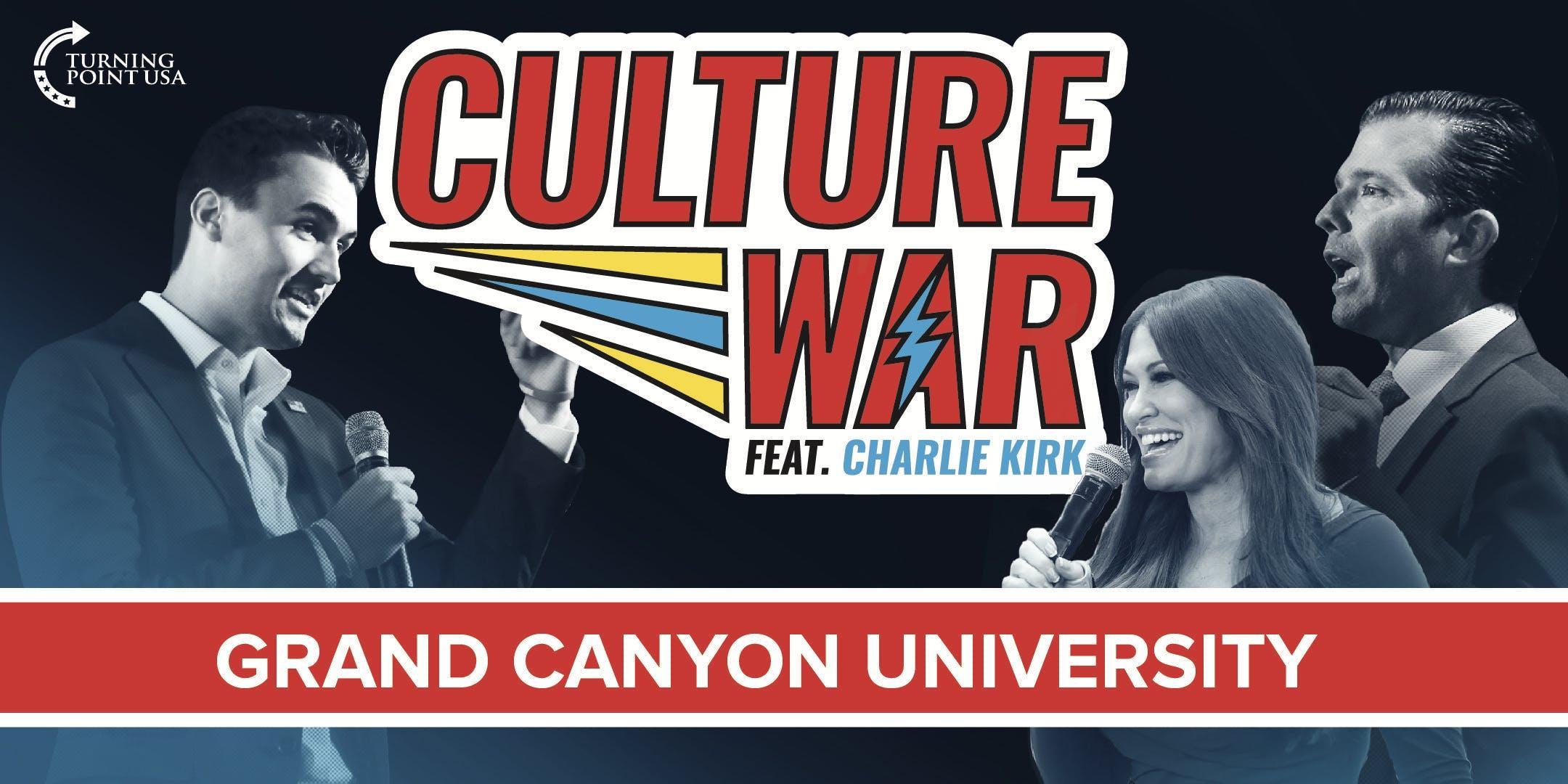Culture War at Grand Canyon University feat. Charlie Kirk & Donald Trump Jr