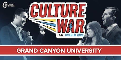 Culture War at Grand Canyon University feat. Charlie Kirk & Donald Trump Jr tickets