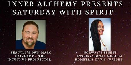 AN EVENING WITH SPIRIT - MARC LAINHART & NORWAY'S ROMETRIS DAVIS-WRIGHT tickets