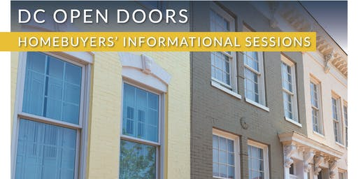 DC Open Doors Homebuyers' Seminar