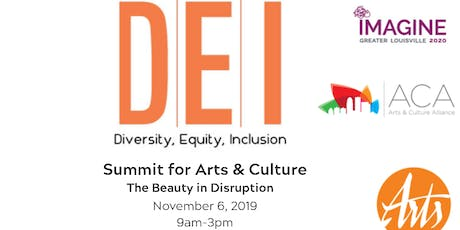 Diversity, Equity, and Inclusion for Arts & Culture Summit tickets