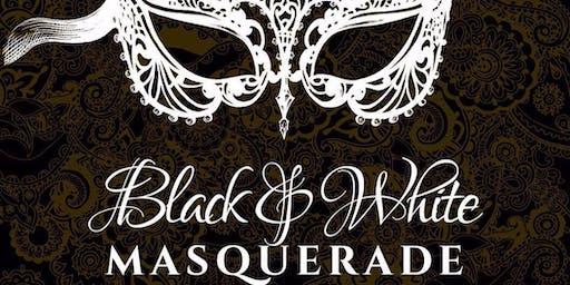 Campbell River Kinette's Charter - Black & White Masquerade Ball