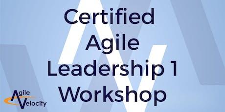 Certified Agile Leadership I Workshop (CAL) - Austin tickets