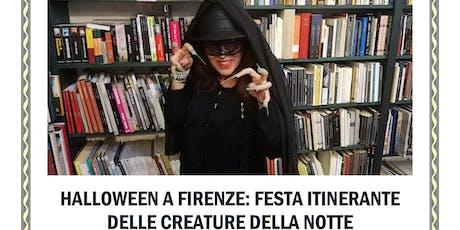 Halloween a Firenze: Festa Itinerante delle Creature della Notte biglietti