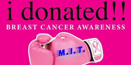 10/20 - i donated !! Breast Cancer Walk at MCU