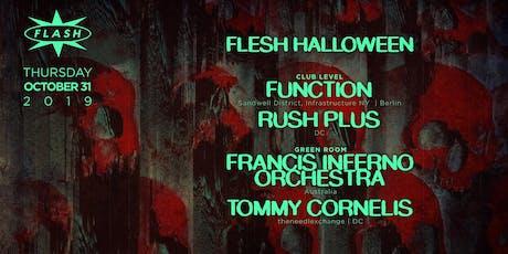 FLESH Halloween tickets