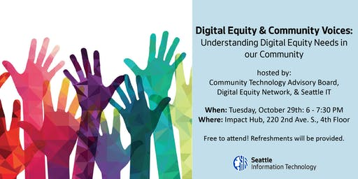 Digital Equity & Community Voices Forum