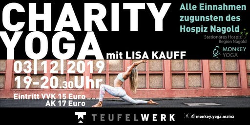 MONKEY YOGA FOR CHARITY IM TEUFELWERK