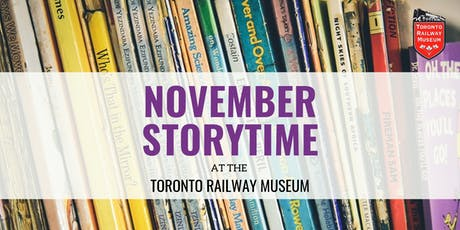 Storytime at the Toronto Railway Museum tickets