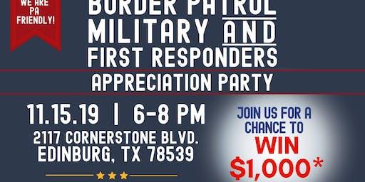 1st Responder Appreciation Party!
