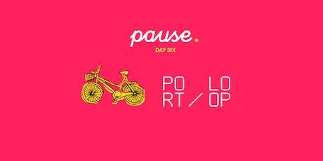 Port Loop Site Visit x Babs on Bikes tickets