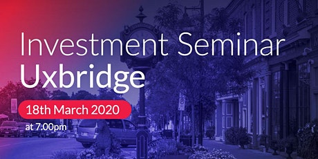 Uxbridge Investment Seminar on Buy2LetCars tickets
