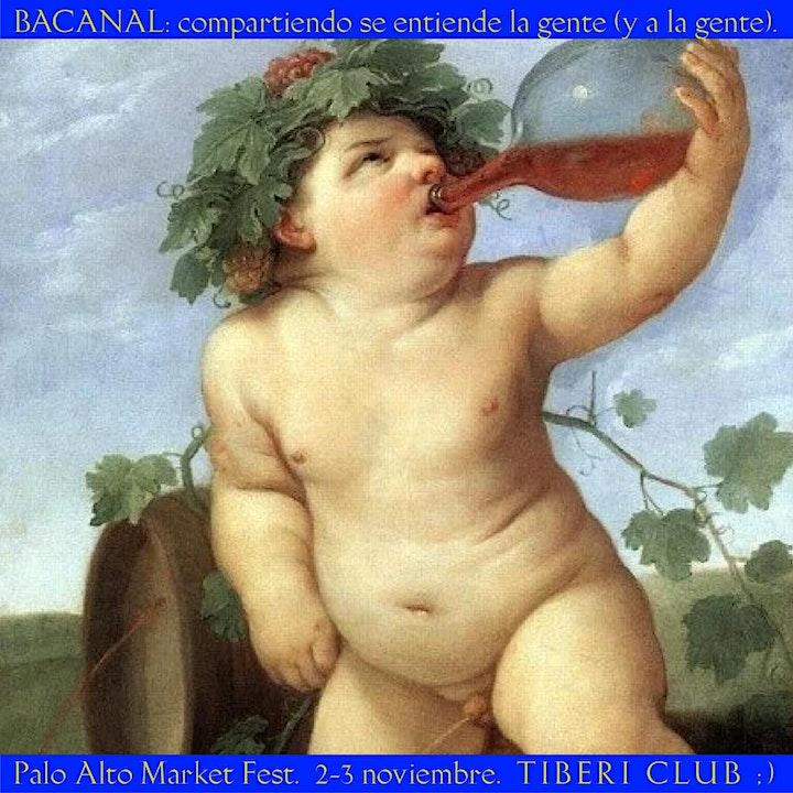 Imagen de BACANAL: compartiendo se entiende la gente / Comida 35€ + Palo Alto 2,5€