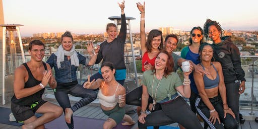 The Original DRUNK YOGA® at Hotel Erwin in Venice Beach, LA!