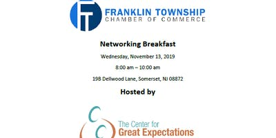 The Center for Great Expectations Networking Breakfast