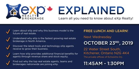 EXP Realty Explained Lunch and Learn tickets