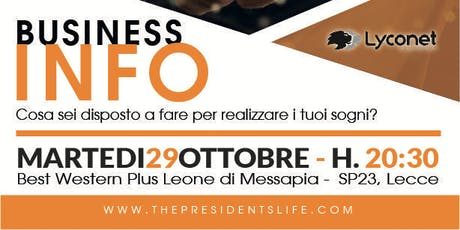 Business Info Lecce tickets